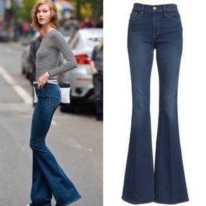 FRAME DENIM Forever Karlie Flare Jeans Size 28